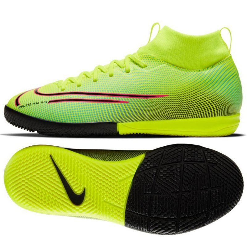 Buty Nike JR Mercurial Superfly Academy MDS IC BQ5529 703 żółty 36 1/2