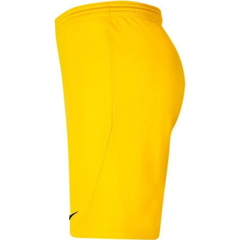Spodenki Nike Park III BV6855 719 żółty S