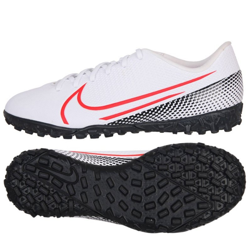 Buty Nike JR Mercurial Vapor 13 Academy TF AT8145 160 biały 33