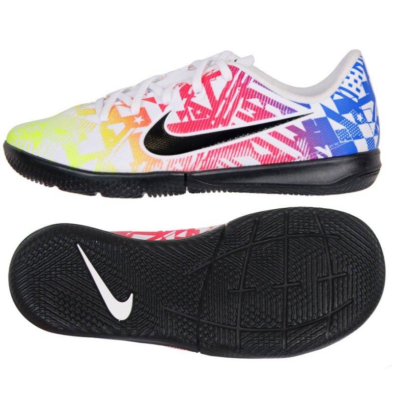 Buty Nike JR Vapor 13 Academy Neymar IC AT8139 104 biały 36 1/2