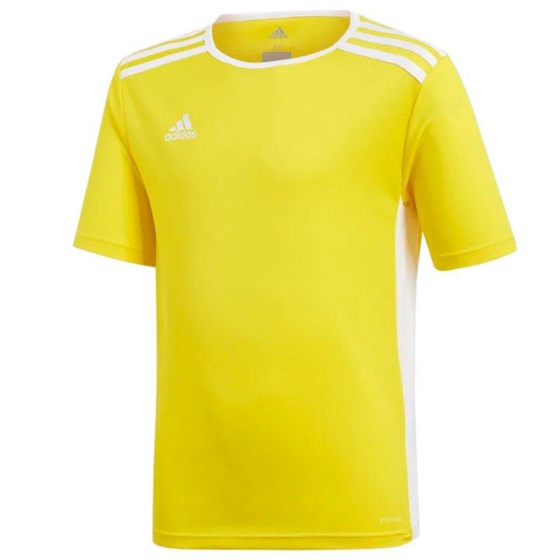 Koszulka adidas Entrada 18 JSY Y CF1039 żółty 116 cm