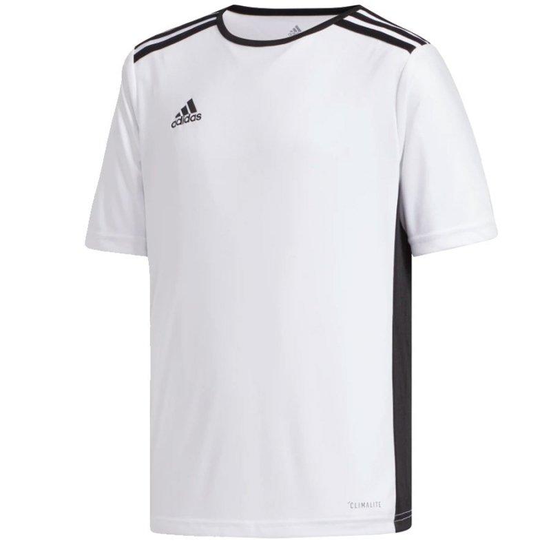 Koszulka adidas Entrada 18 JSY Y CF1044 biały 140 cm