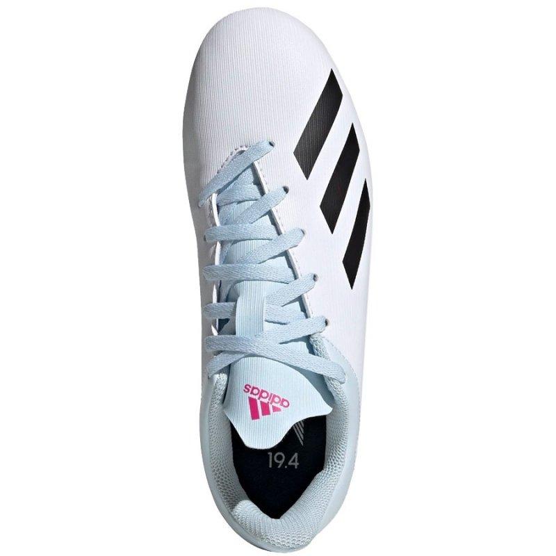 Buty adidas X 19.4 FxG J EF1616 biały 38