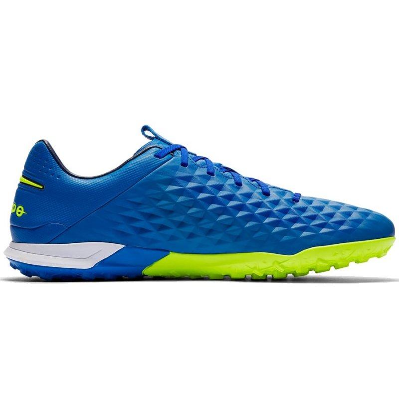Buty Nike Tiempo Legend 8 PRO TF AT6136 474 niebieski 42
