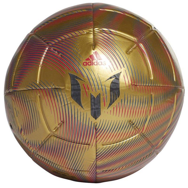Piłka adidas Messi CLB GK6110 złoty 5