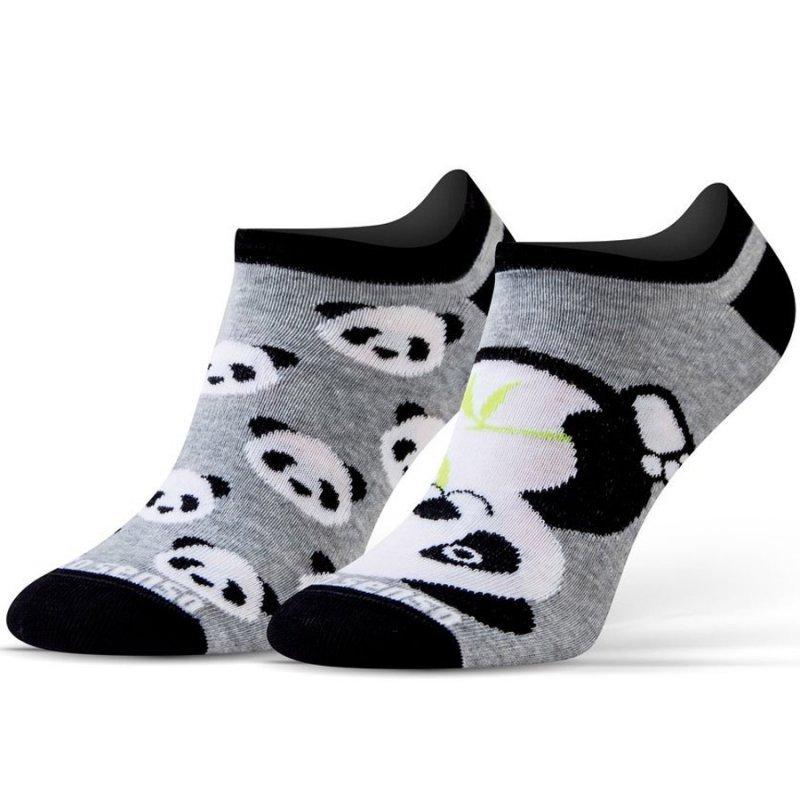 Skarpety Sesto Senso panda szary 35-38