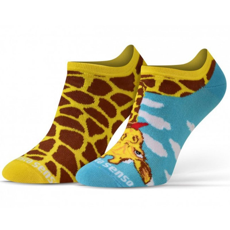 Skarpety Sesto Senso żyrafa żółty 39-42
