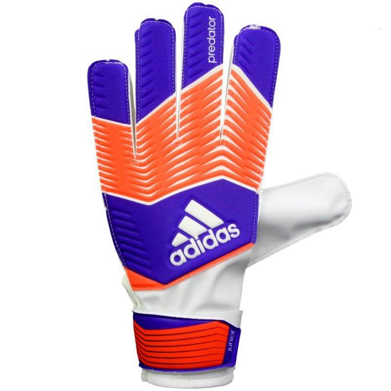 Rękawice adidas Predator Jr M38733 niebieski 5