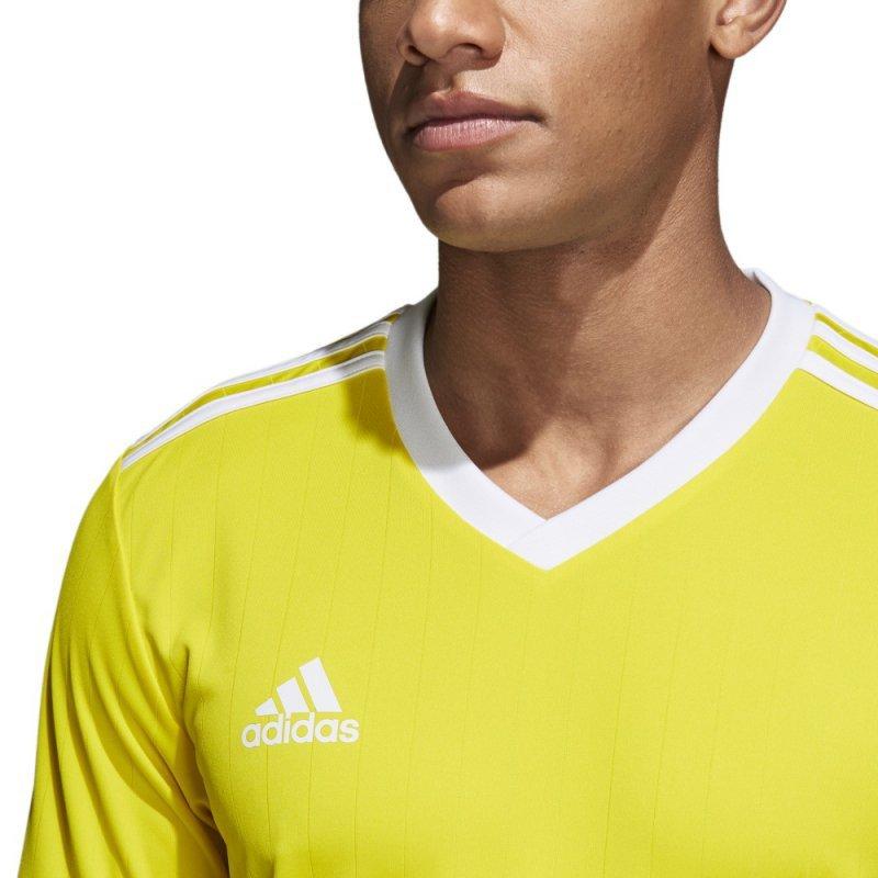 Koszulka adidas Tabela 18 JSY CE8941 żółty 152 cm