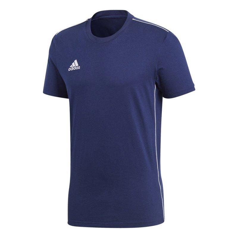 Koszulka adidas Core 18 Tee CV3981 granatowy M