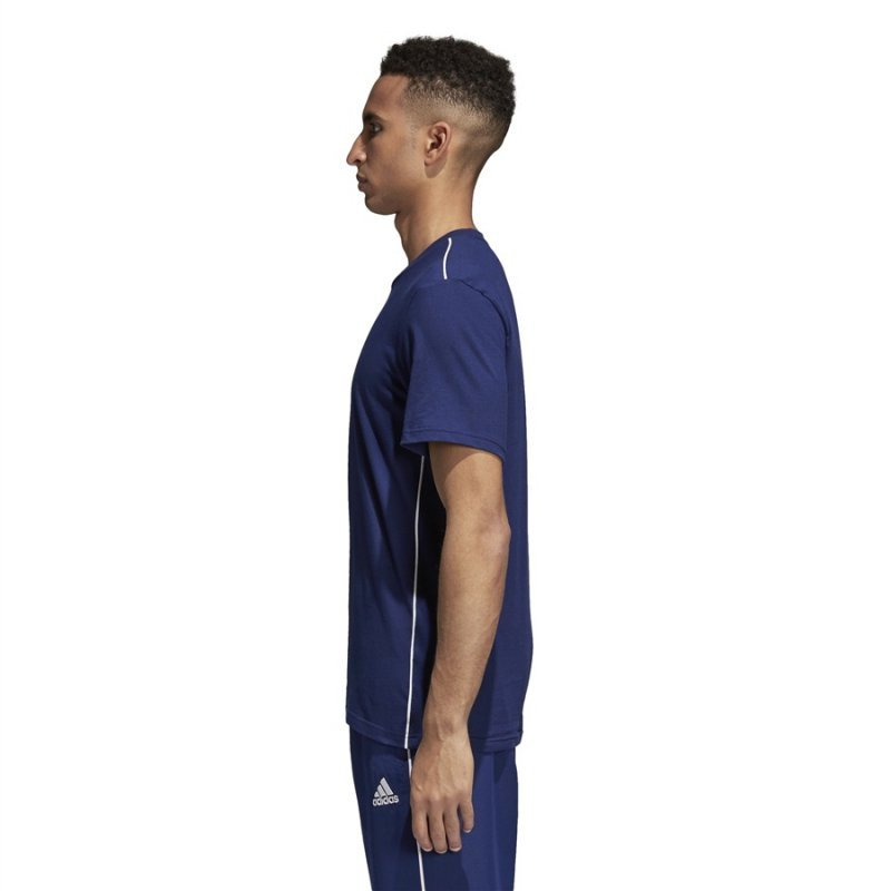 Koszulka adidas CORE 18 Tee CV3981 granatowy XXL