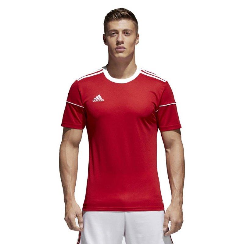 Koszulka adidas Squadra 17 JSY BJ9174 czerwony 140 cm