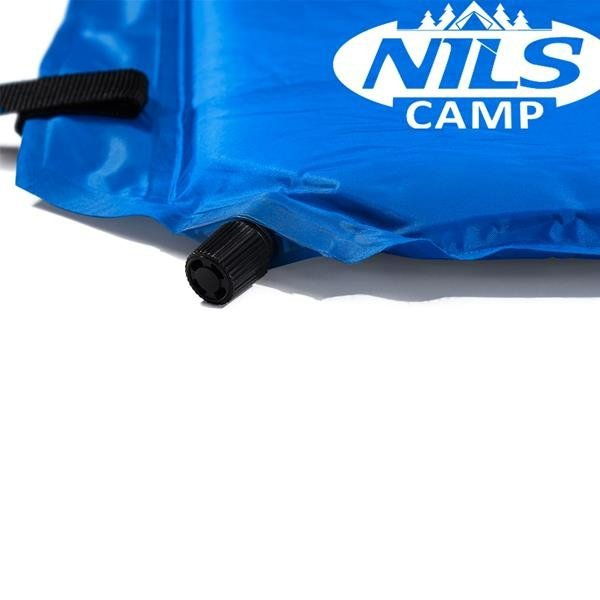 NC4347 CIEMNONIEBIESKA MATA SAMOPOMPUJĄCA Z PODUSZKĄ  NILS CAMP