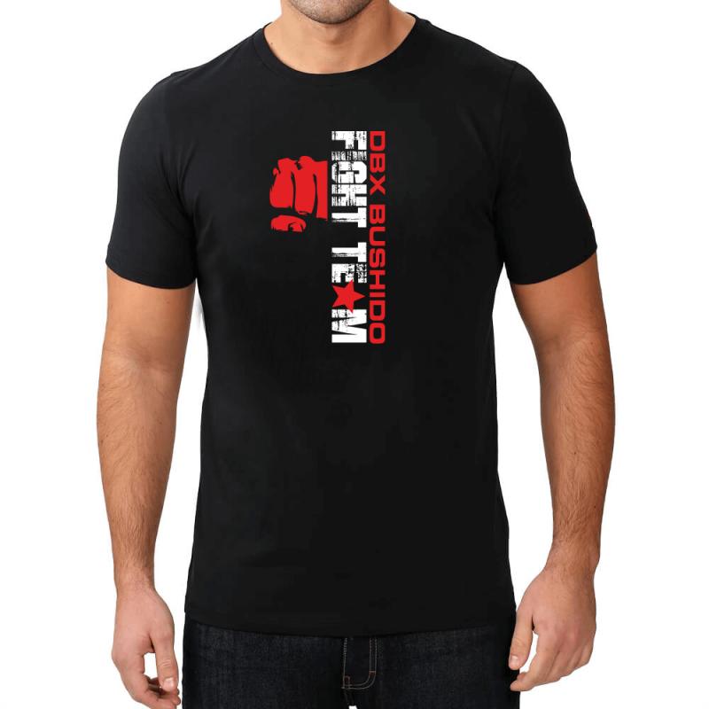T-Shirt KOSZULKA BAWEŁNIANA DBX BUSHIDO FIGHT TEAM  KT9-M