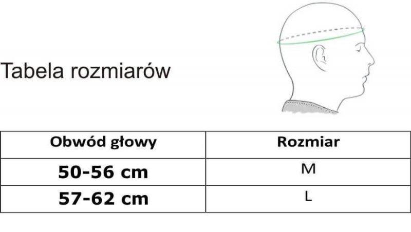 Kask bokserski sparingowy z maską poliwęglanową  ARH-2180 L
