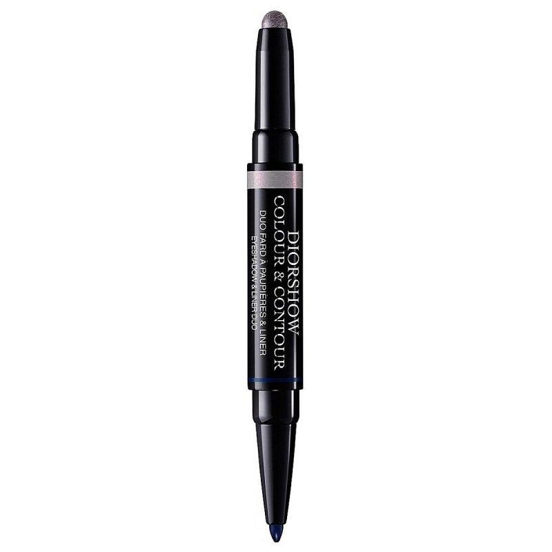 Christian Dior Diorshow Colour & Contour cień i liner duo 2w1 Cień i liner 0,8g + 0,3g 157 Iris