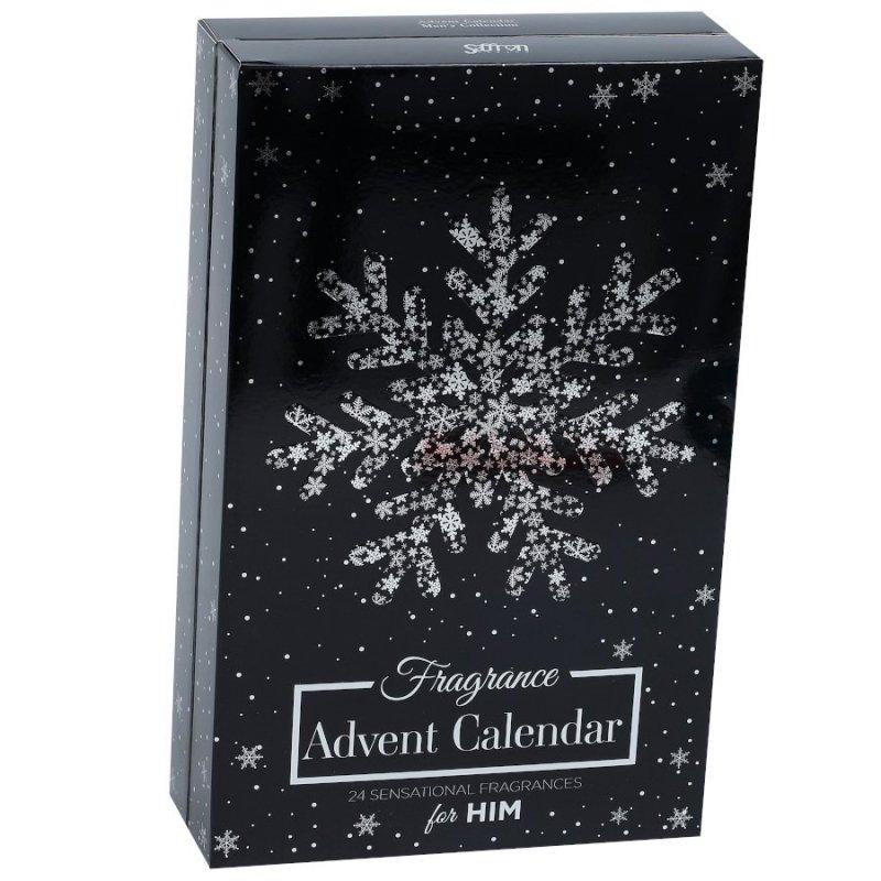Saffron 24 Day Gift Advent Calendar For Him zestaw 24 zapachów dla mężczyzn