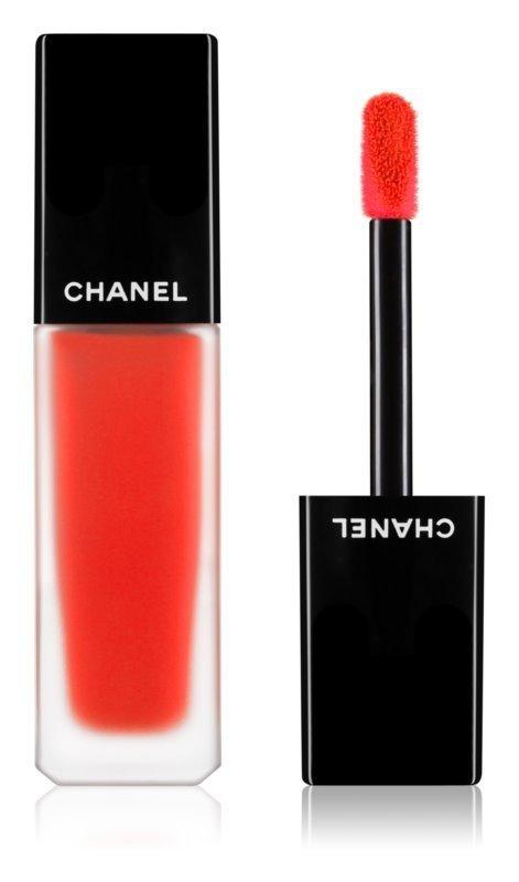 Chanel Rouge Allure Ink szminka w płynie z matowym wykończeniem 164 Entusiasta 6 ml
