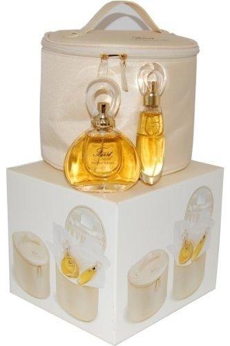 Van Cleef & Arpels First zestaw dla kobiet woda toaletowa 60 ml + woda toaletowa 20 ml + kosmetyczka