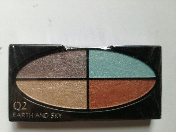 Shiseido Silky Eye Shadow Quad Poczwórne cienie do powiek 2,5g wkład Q2 Earth and Sky