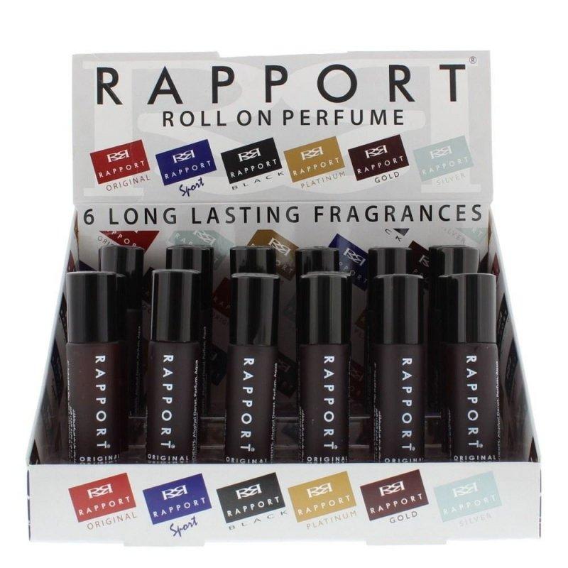 Rapport Black perfumy dla mężczyzn 10ml roll-on