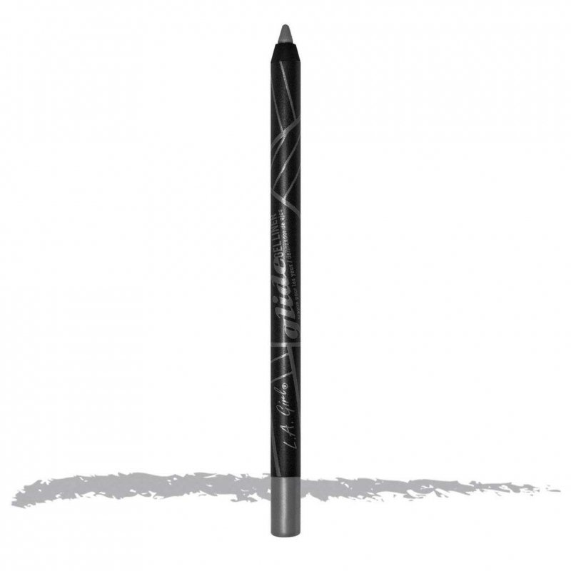 L.A Girl Gel Glide Eyeliner Pencil Silver Streak kredka do oczu srebrna 1.2g