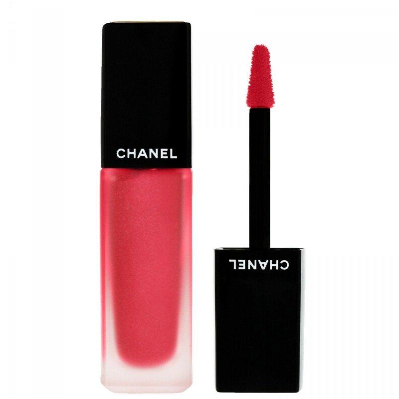 Chanel Rouge Allure Ink matowa płynna pomadka do ust 6ml 208 metallic red