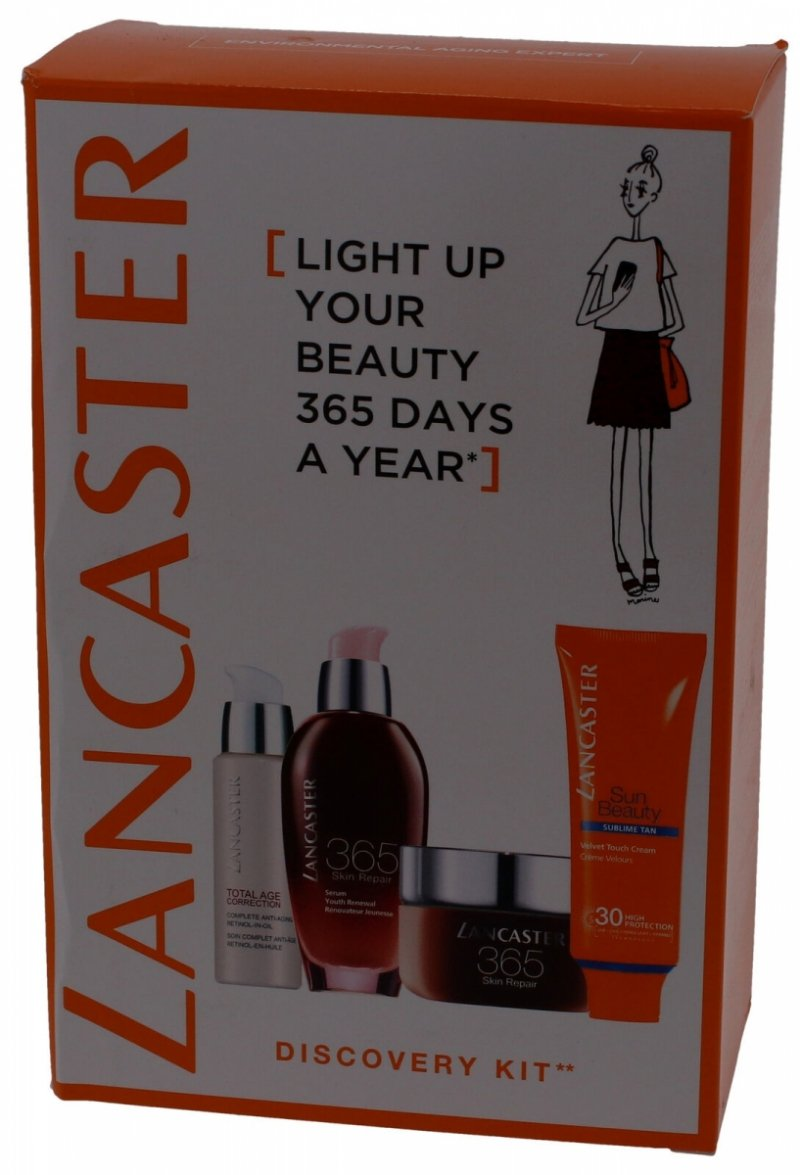 Lancaster 365 Days A Year Discovery-Kit Zestaw podarunkowy 5 sztuk kosmetyków