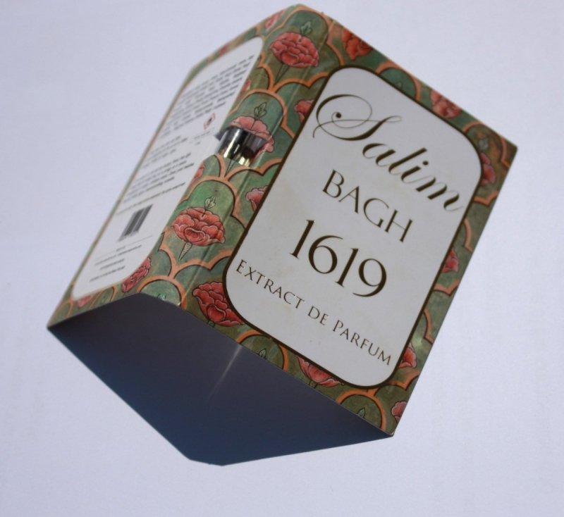 Tabacora by MTP Salim Bagh 1619 Ekstrakt Perfum  1ml