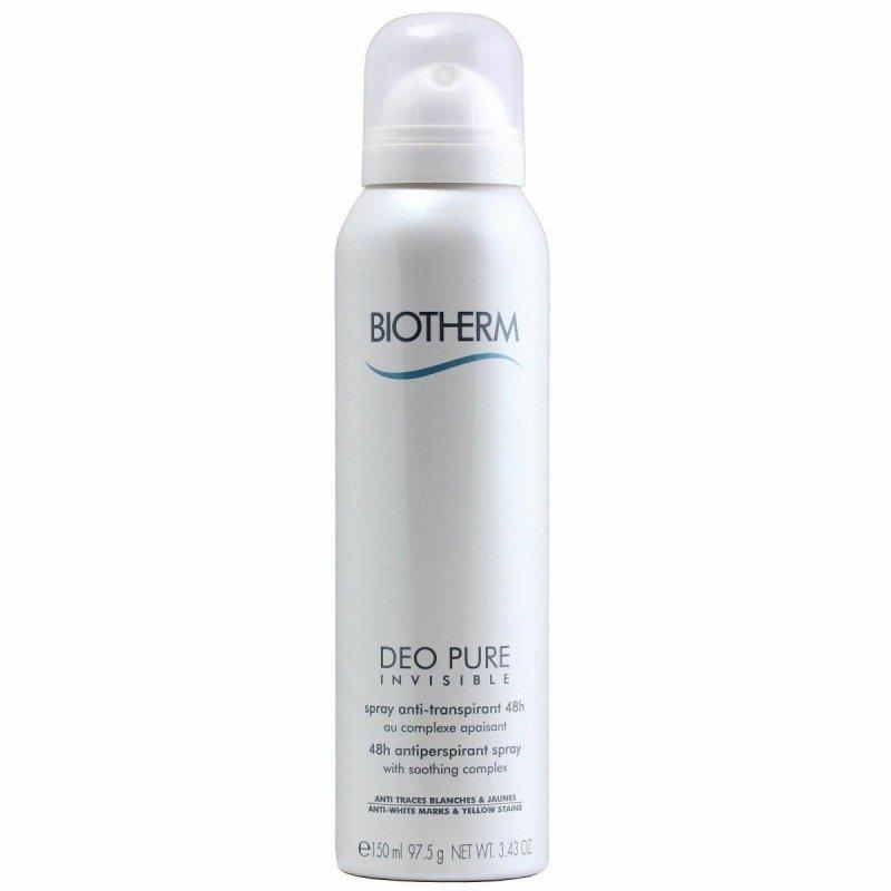 Biotherm Deo Pure Invisible 150ml Anti-Perspirant w sprayu 48-godzinny efekt