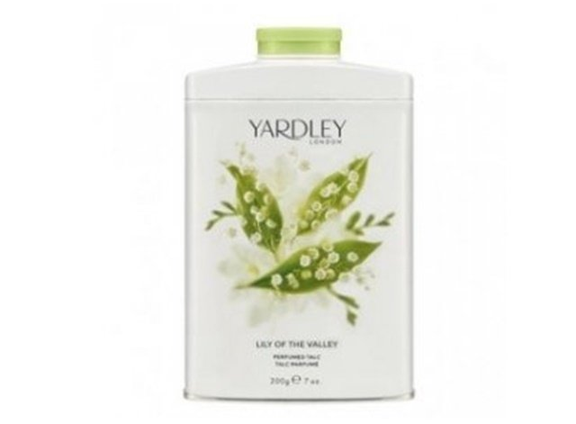 Yardley  Lily of the Valley konwalia perfumowany talk do ciała 200 g