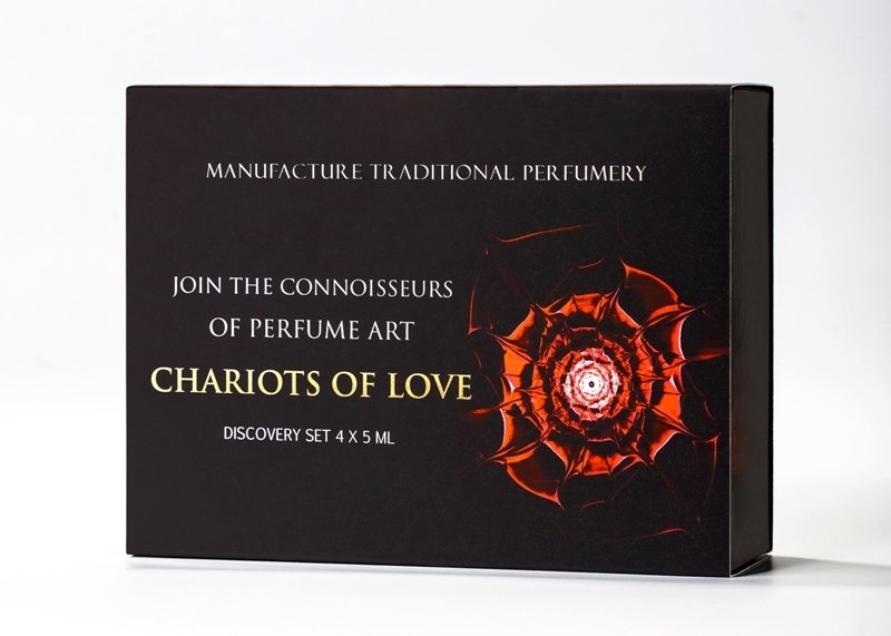 Chariots of Love Discovery Set 4X5ML