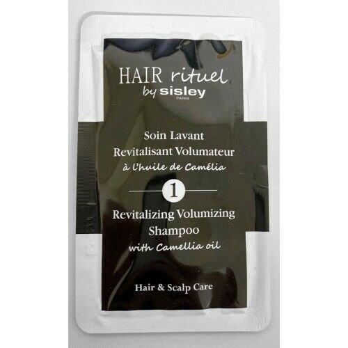 Sisley Hair Rituel Soin Lavant rewitalizujący szampon dla objętości włosów z olejkiem kameliowym 80 ml