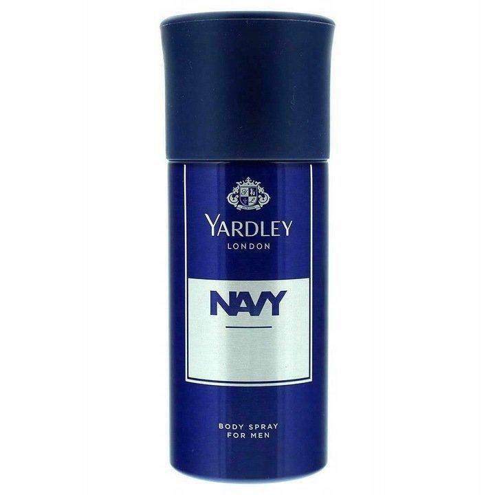 Yardley Navy dezodorant 150 ml spray dla mężczyzn