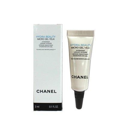 Chanel Hydra Beauty wygładzający żel pod oczy o działaniu nawilżającym 3 ml