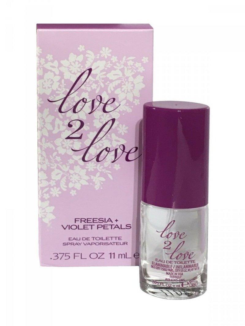 COTY Love 2 Love Freesia + Violet Petals woda toaletowa 11 ml spray