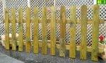 S11 solidny płot sztachetowy (180x80)