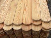 Sztacheta drewniana  gładka