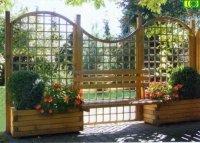 Zestaw ogrodowy z ławką