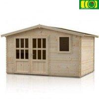 Drewniany domek ogrodowy NARCYZ 380/280