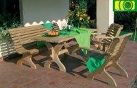 Komplet mebli stół prostokątny