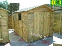 Drewniany domek narzędziowy 220 x 280 NR-04