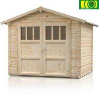 Drewniany domek ogrodowy OGNIK 210/210