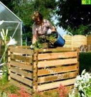 KOM1 kompostownik ogrodowy