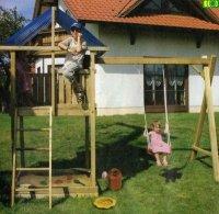 P02 drewniany zestaw ogrodowy PIOTREK