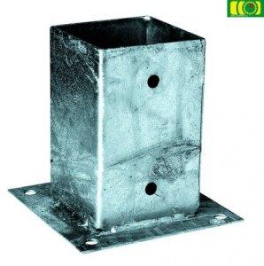 Metalowa podstawa przykręcana na beton 9x9