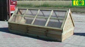 O10 inspekt drewniany dwuspadowy