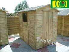 DM18 drewniany domek narzędziowy (213x150) NR-02
