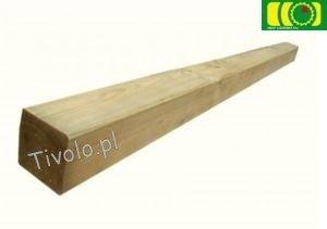 Drewniany słupek, kantówka (70x70x900)