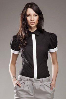 Koszula NEGATYW - czarny - K33